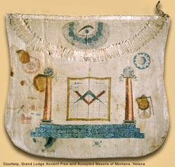 Meriwether Lewis' masonic apron